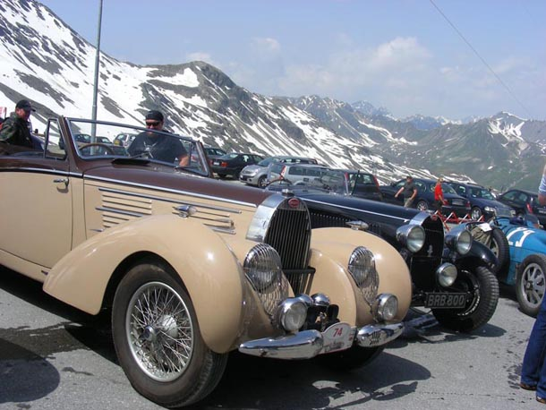 Bugatti International St Moritz 2014